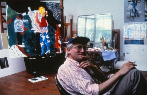 David Hockney, 1983, photo joiners, cubism, Proust, interview, Picture © by Shapersofthe80s