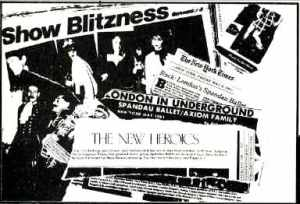 The New Heroics: how the New York press reported the Blitz show