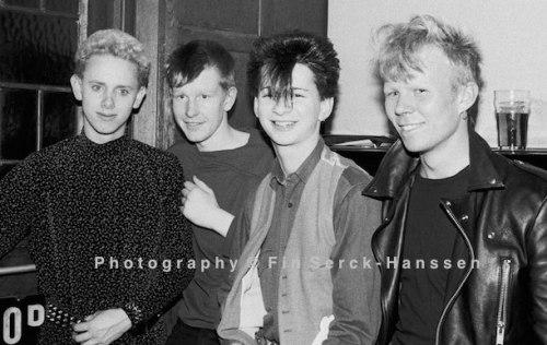 Depeche Mode ,electro-pop