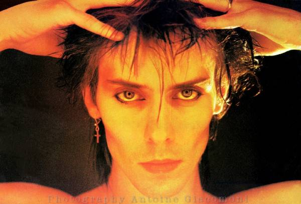 Peter Murphy , Bauhaus, goth-rock. Peter Murphy of Bauhaus, photographed for ...