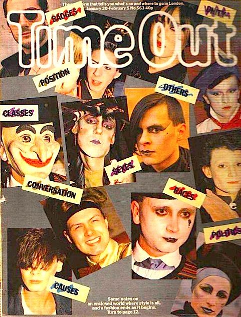 Time Out, Jan 1981, New Romantics, Blitz Kids