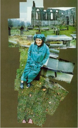 Photo-collage, joiners, David Hockney, Mother, Bolton Abbey, Yorkshire, Nov 1982, Collection David Hockney