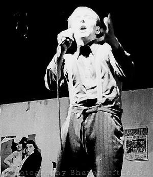 alternative cabaret,comedy, Soho, Comic Strip,1980,Rik Mayall