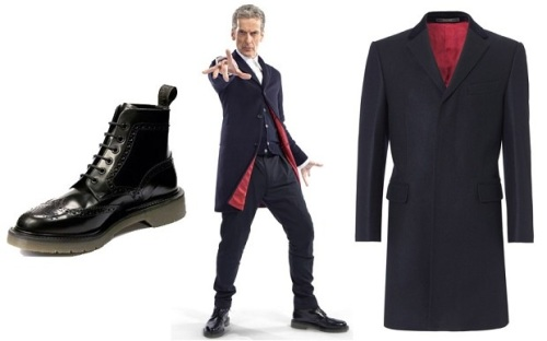 Peter Capaldi,Doctor Who,outfit, fashion,Crombie,TV,Rebel Time Lord