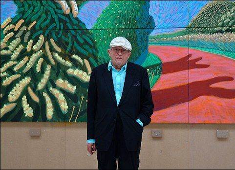 David Hockney, BBC Today, audio slideshow