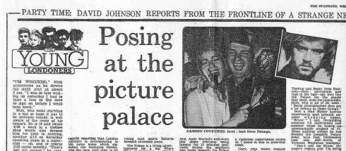Camden Palace, nightclubbing, Steve Strange, 1983