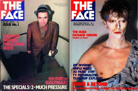 The Face, magazine, May 1980, launch, Jerry Dammers, David Bowie, The Cult With No Name, New Romantics