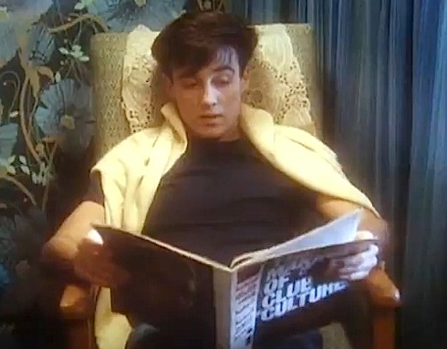 Andrew Ridgeley, George Michael, Wham Rap, video, Face magazine, Club Culture,