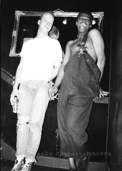 London, clubbing, Swinging 80s,White Trash, Paul Bernstock , Dencil Williams