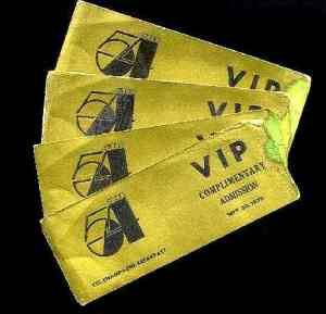Studio 54, VIP, tickets