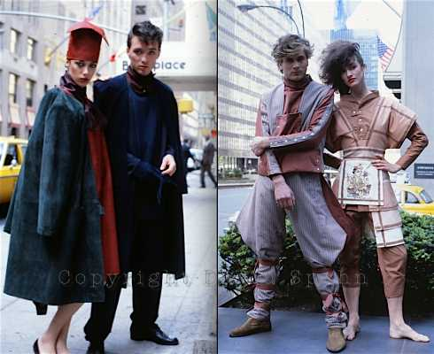 Martin Kemp, Steve Norman, NYC,Axiom,fashion