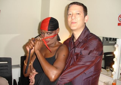 Grace Jones, Mark Moore