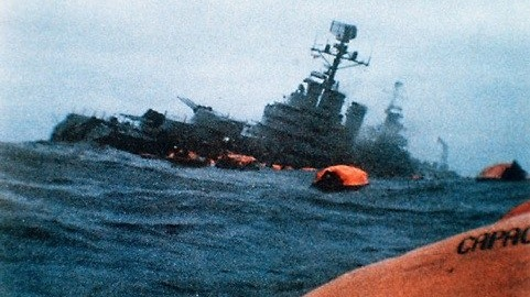 Belgrano, sinking, Falklands, 1982