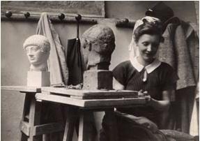 Louise Bourgeois, Brassai, 1937