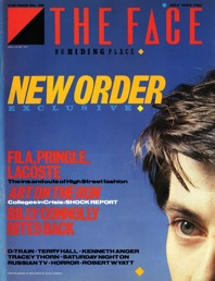 The Face, magazines, July 1983, New Order, Art on the Run