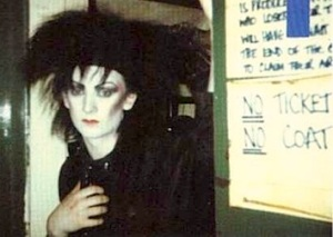 Boy George,  Blitz club, London , 1979