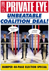 Private Eye, 2010, general election