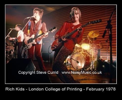 Rich Kids, Steve New, 1978, Steve Currid, pink trousers