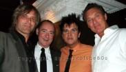 Steve Norman, Stephen Linard, Steve Strange, Martin Kemp, Green Carnation, London, © by Shapersofthe80s