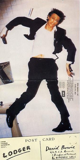 David Bowie, Lodger, Brian Duffy, Derek Boshier