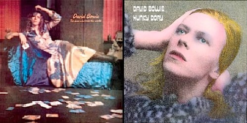 Bowie, Man Who Sold the World, Hunky Dory, Glam rock