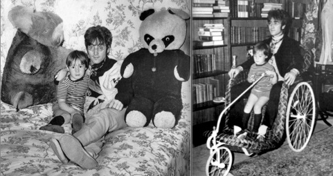 John Lennon, Julian Lennon, Kenwood,