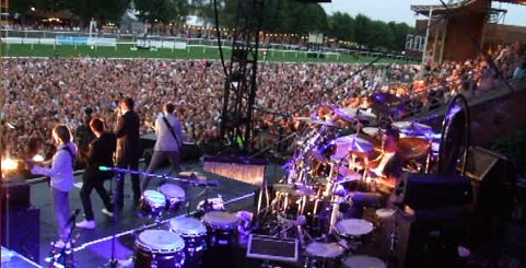 Spandau Ballet, farewell performance, end of tour, Newmarket, racecourse,