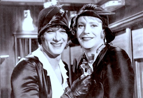 Tony Curtis, Jack Lemmon, Some Like it Hot, drag