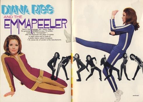 Miss Peelpants , Diana Rigg, Emma Peel, Terry O'Neill