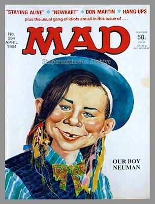 Mad magazine, Alfred E Neuman, Boy George