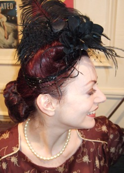 Nina Butkovich-Budden,London, vintage hair