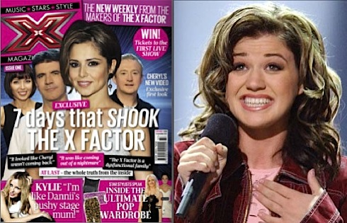 X Factor, X magazine, launch, Kelly Clarkson, American Idol, Simon Cowell