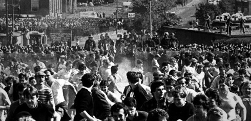 Orgreave, Yorkshire , miners' strike, riot police