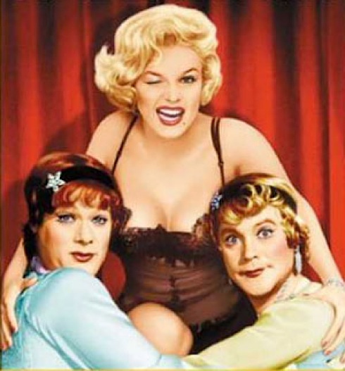 Some Like It Hot,Marilyn Monroe, Tony Curtis , Jack Lemmon