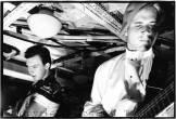 July 26, 1980: live date No 7 aboard HMS Belfast. Pictured by Virginia Turbett
