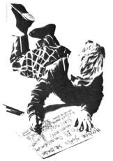 Dec 22, 1979: no billing on Graham Smith's flyer when Spandau play Mayhem
