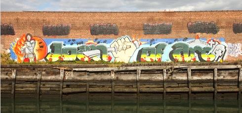 graffiti, Subway Art History,Joan of Arc, Hand of Doom, Martha Cooper ,Henry Chalfant