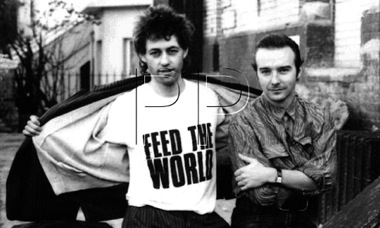Band Aid,Bob Geldof ,Midge Ure,SARM