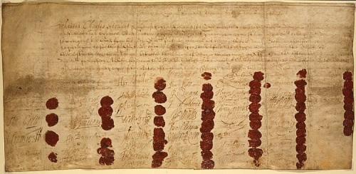 King Charles I, execution, warrant