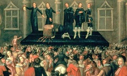 execution, painting,1649,Banqueting House , King Charles I
