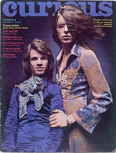 David Bowie, review,Curious magazine, Any Day Now,Brian Ward,Arnold Corns,Man Who Sold The World,Mr Fish,Freddi Burretti, Ziggy Stardust,Yours or Mine,Malcolm Thomson
