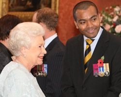 Queen Elizabeth II, Johnson Beharry, VC