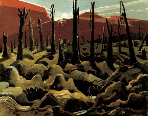 We Are Making a New World,  Paul Nash,Imperial War Museum,Robert Hughes, Shock of the New