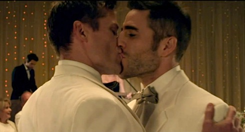 Pink, Raise Your Glass, gay kiss, pop video