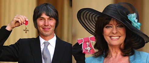 Brian Cox, Vicki Michelle, 'Allo, 'Allo, University of Manchester, British Monarchy,investiture