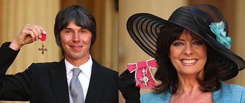 Brian Cox, Vicki Michelle, 'Allo, 'Allo, University of Manchester, British Monarchy,investiture
