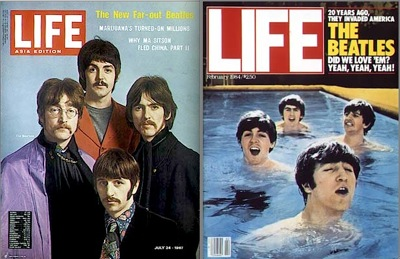 Beatles, life magazine, tribute