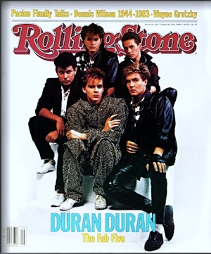 Rolling Stone, Duran Duran,Fab Five,Second British Invasion