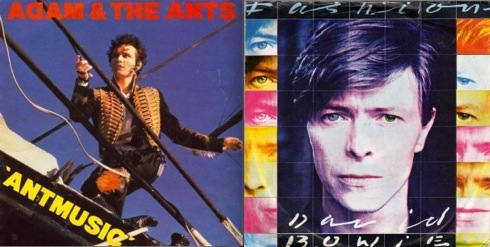 Adam & The Ants, David Bowie, Swinging 80s,Top Of The Pops