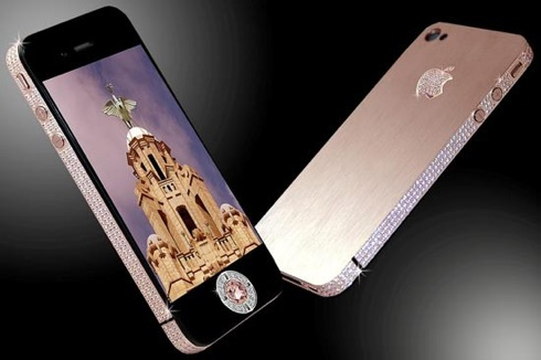 world's most expensive phone,£5m,$8m, iPhone 4 Diamond Rose,Stuart Hughes,